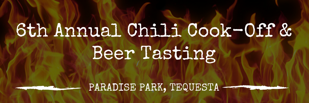 Tequesta Chili Cook Off and Beer Tasting