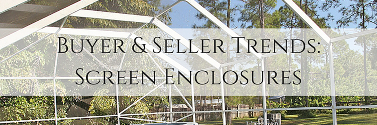 Screen Enclosure Trends in Real Estate